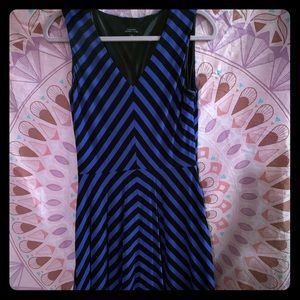 👗 Fit and Flare Chevron Dress 👗